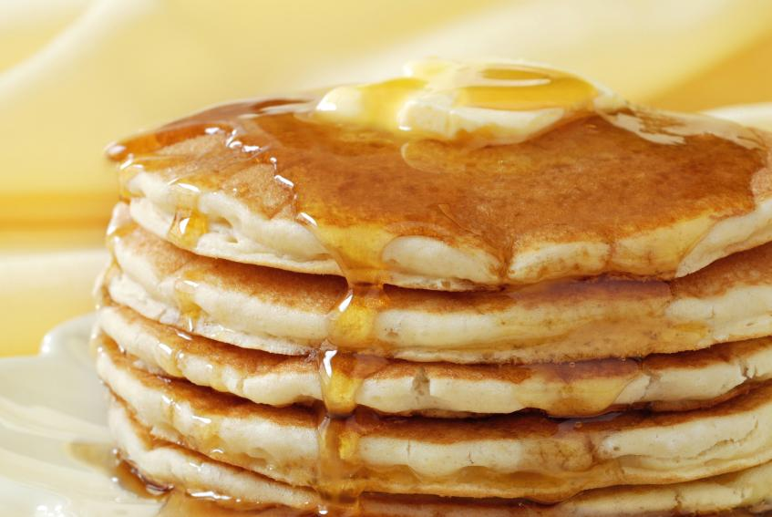 Gluten-Free Pumpkin Pancakes Recipe With Apricot Jam And Maple Syrup ...