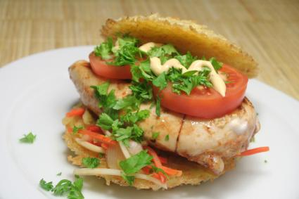 Rice Turkey Burger