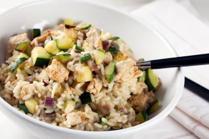 Tofu brown rice