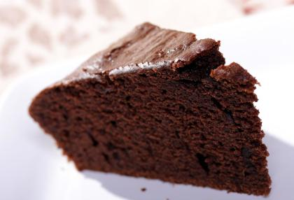 Chocolate Cake Made With Stevia