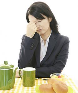 Headache when eating bread