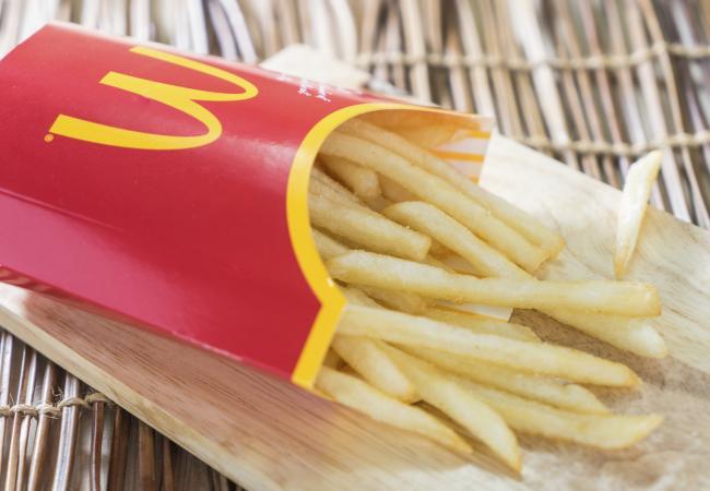 Fast Food Nutritional Information Mcdonald