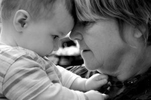 Baby with Grandma