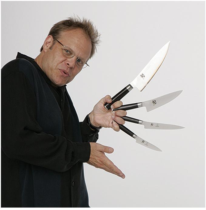 Kitchen Alton Brown: Shun Kitchen Knives Pictures [Slideshow]