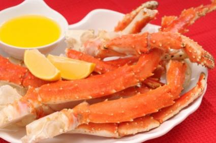 how to prepare frozen cooked crab legs