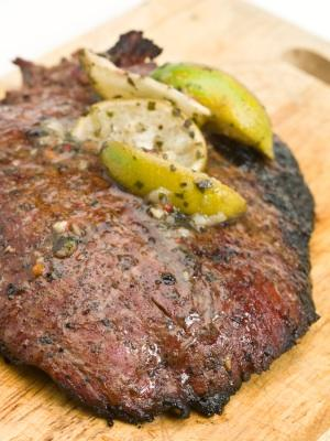Steak marinated in lime juice is the perfect base for any Mexican dish