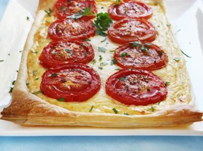Puff pastry is delicious and easy to work with.