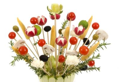 Edible Vegetable Arrangement