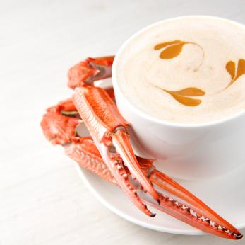 Seafood Bisque With Crab Claws