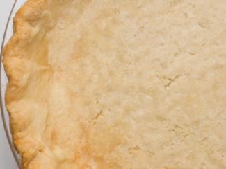 Freshly Baked Pie Crust; © Brad Calkins   Dreamstime.com