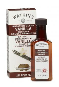 Clear Double Strength Imitation Vanilla Extract