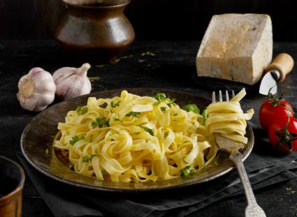Linguine With White Truffle Oil
