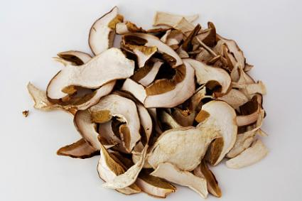Dried porcini mushrooms