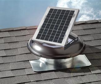 Solar Power Roof Vents