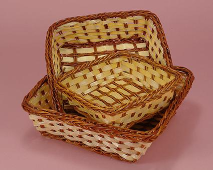 Bamboo baskets at papermart.com
