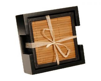 Thirstystone Bamboo Coaster Set at Amazon.com