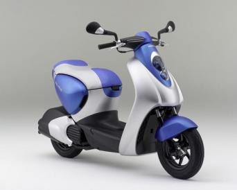 Honda 50cc Hybrid scooter