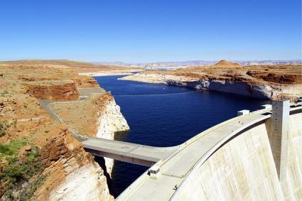 Large dam