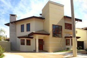 Environmentally friendly modern homes.