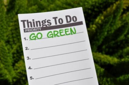To do list, go green!