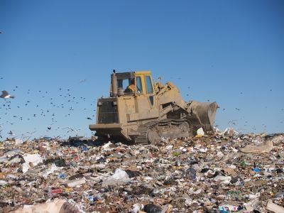 sea of garbage