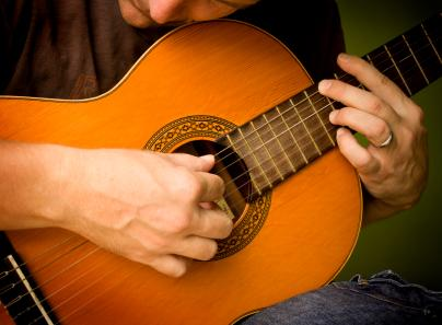 Right Hand Position for Classical Guitar