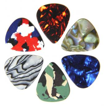 Celluloid guitar picks to customize from PickWorld