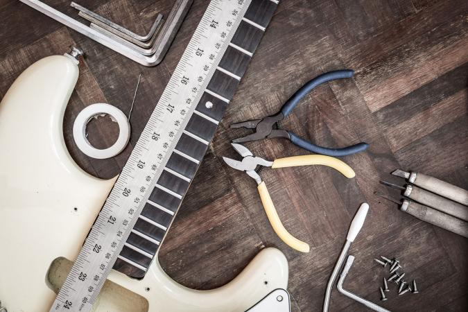 DIY guitar modification