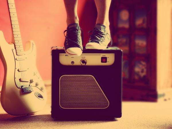 Standing on an Amplifier