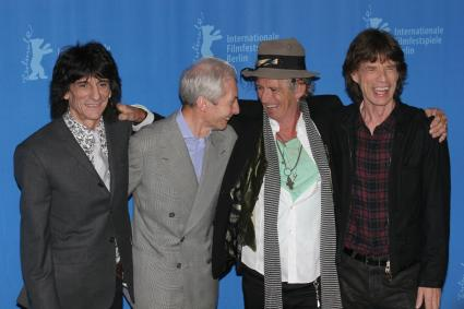 The Rolling Stones band