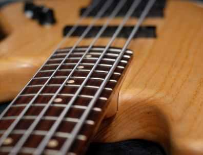Five-string bass guitar