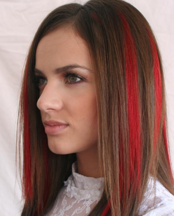 Outstanding Pictures Of Dark Hair With Highlights Slideshow Short Hairstyles For Black Women Fulllsitofus
