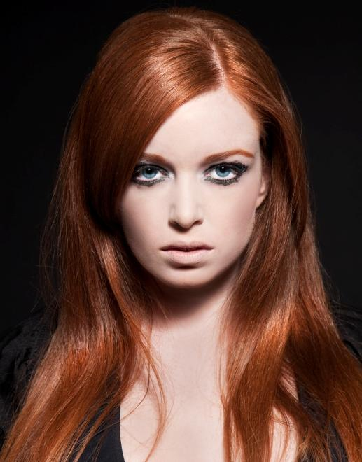 dark coppery red hair color
