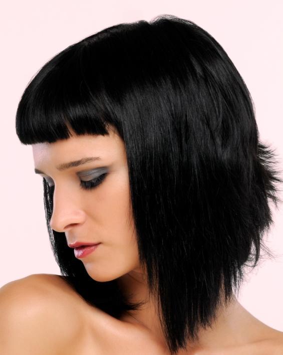 almost black hair