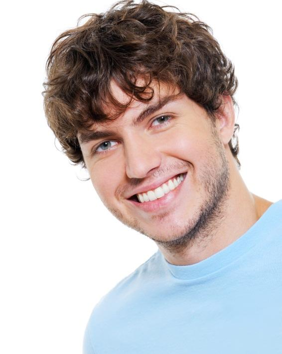 men's medium curly hairstyle