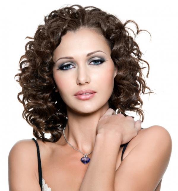 ... For Medium Length Curly Hair. on medium hairstyles for permed hair