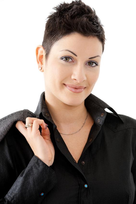 Miraculous Very Short Haircuts For Ladies Slideshow Short Hairstyles Gunalazisus