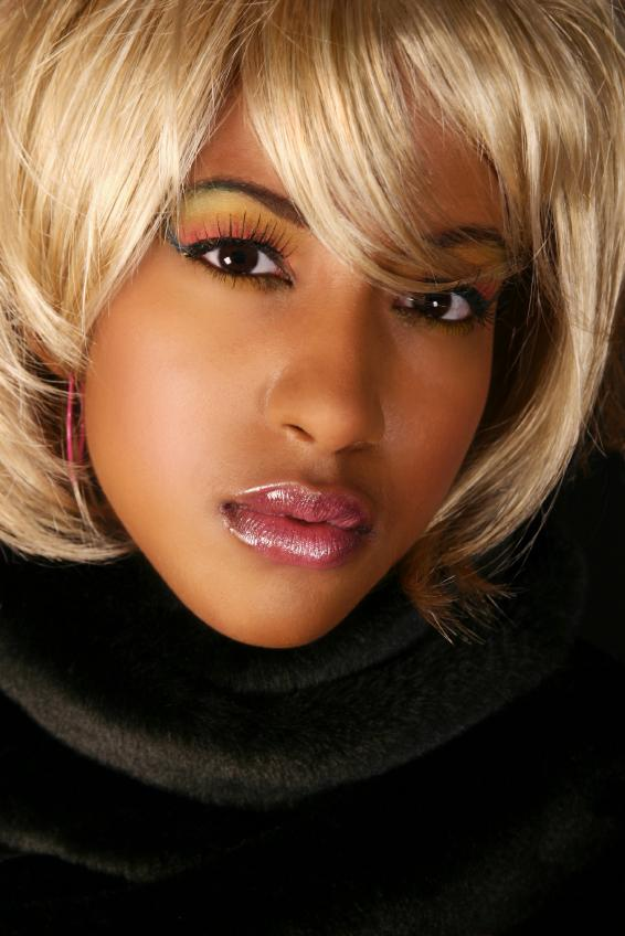 Pictures Of Hair Color For African American Women