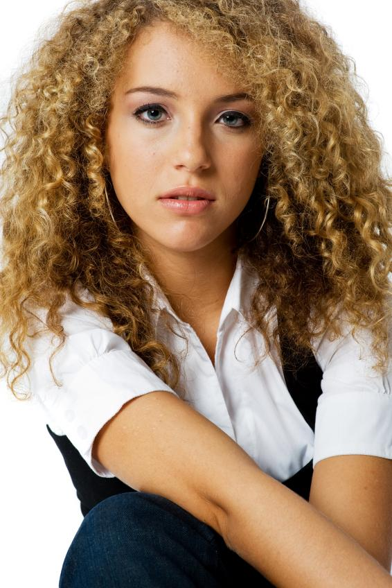 spiral curls a spiral perm creates tons of tight well