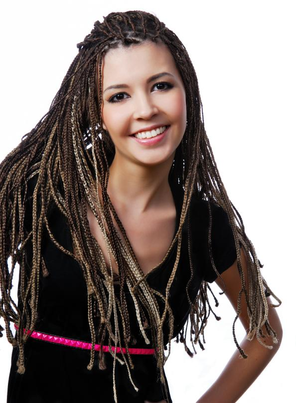 Super Pictures Of Micro Braid Hairstyles Slideshow Hairstyles For Women Draintrainus