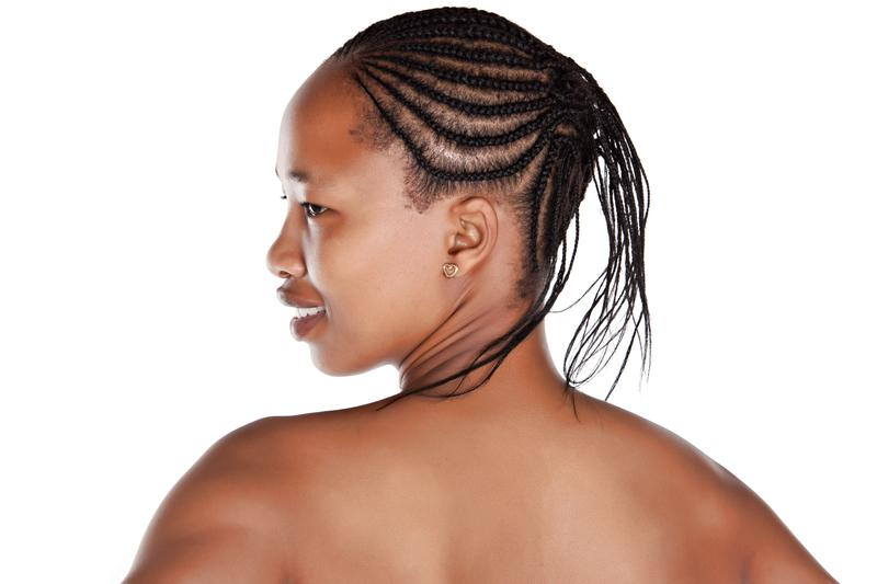 Pleasant Pictures Of Black Braid Hair Styles Slideshow Hairstyles For Women Draintrainus