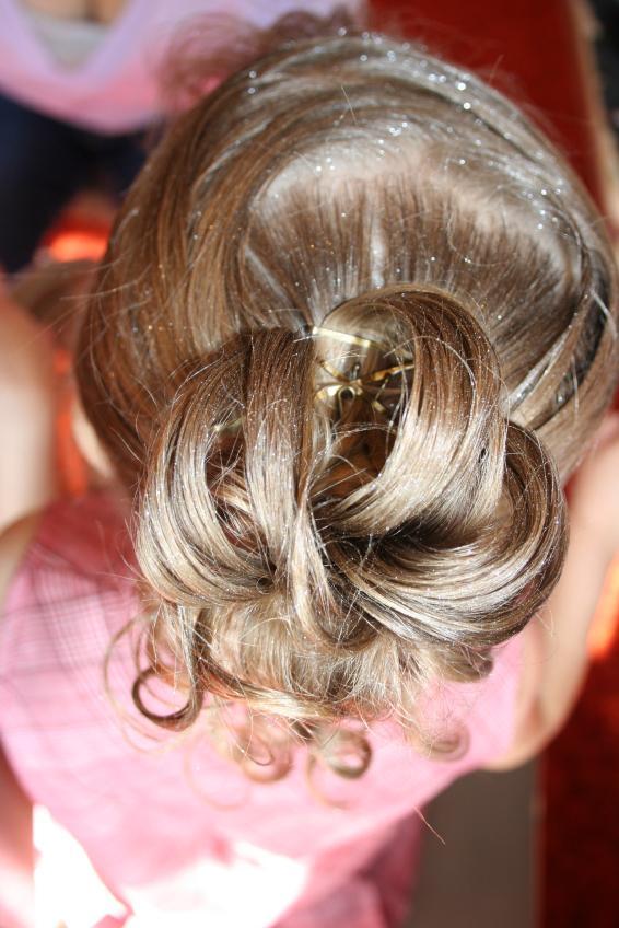 Wedding Hairstyles Little Girls