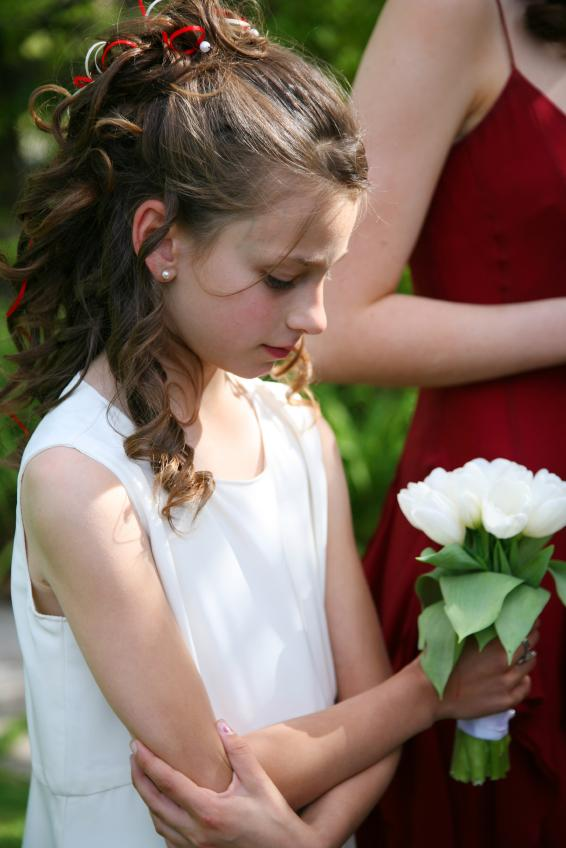 Awesome Wedding Hairstyles For Little Girls Slideshow Hairstyle Inspiration Daily Dogsangcom