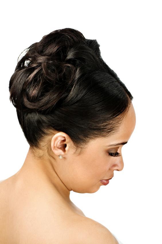 Wondrous Updo Hairstyles For Black Weddings Best Hairstyles 2017 Hairstyles For Women Draintrainus