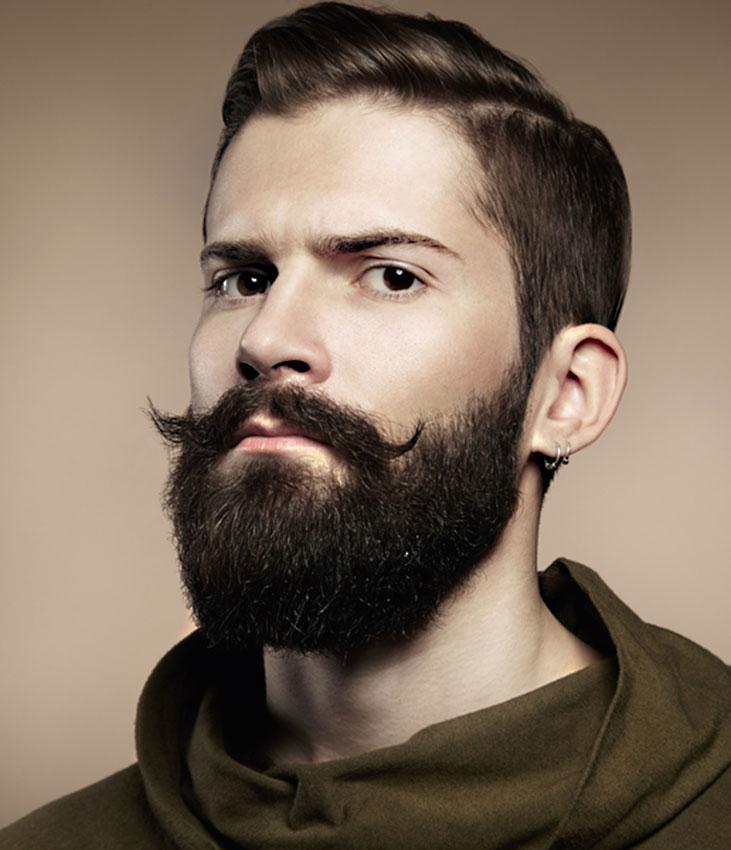 Strange Cool Beard Styles Slideshow Short Hairstyles Gunalazisus