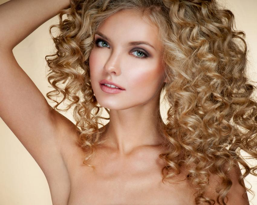 Soft Natural Curls With DifferentSized Rods