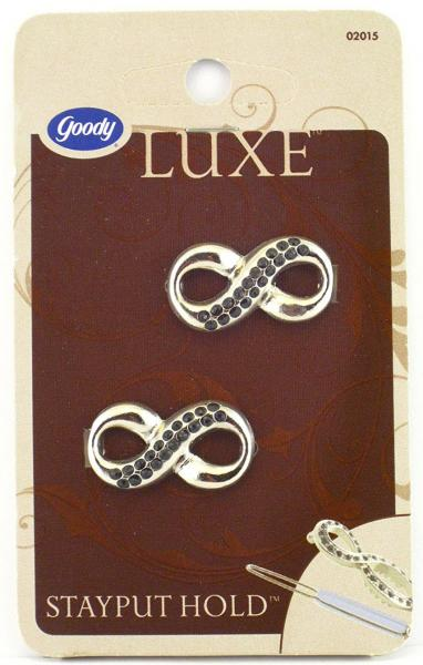 Goody Luxe Stayput Jean Wire Hair Barrettes