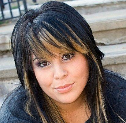 Pictures of dark hair with highlights lovetoknow golden highlights pmusecretfo Choice Image