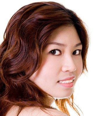 Chestnut haircolour