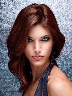 Medium Length Hair Cuts [Slideshow]